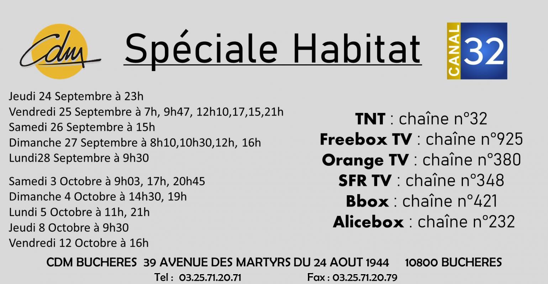 cdm troyes buchères matériaux construction publicité canal32 pub télé télévision